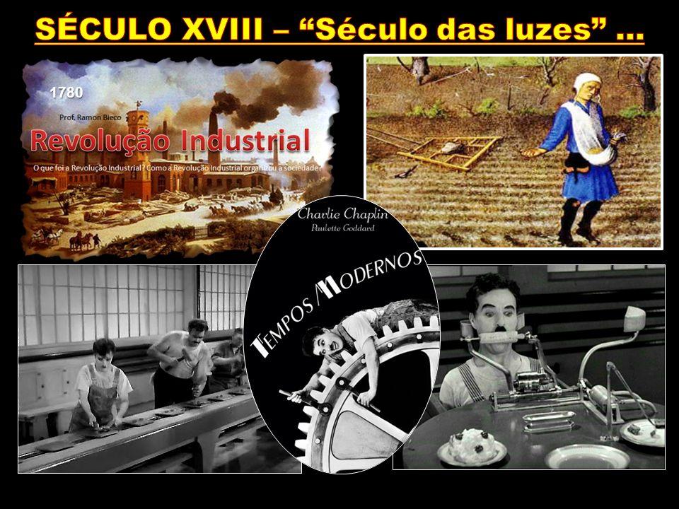 SÉCULO XVIII – Século das luzes ...