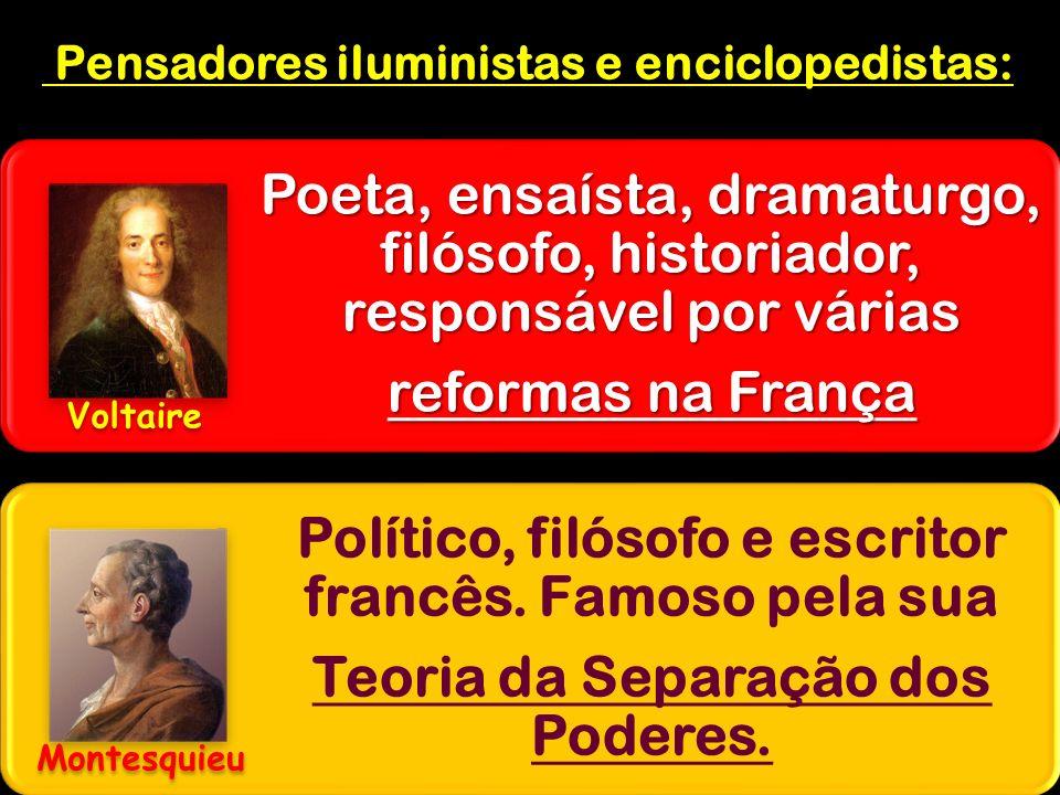 Pensadores iluministas e enciclopedistas: