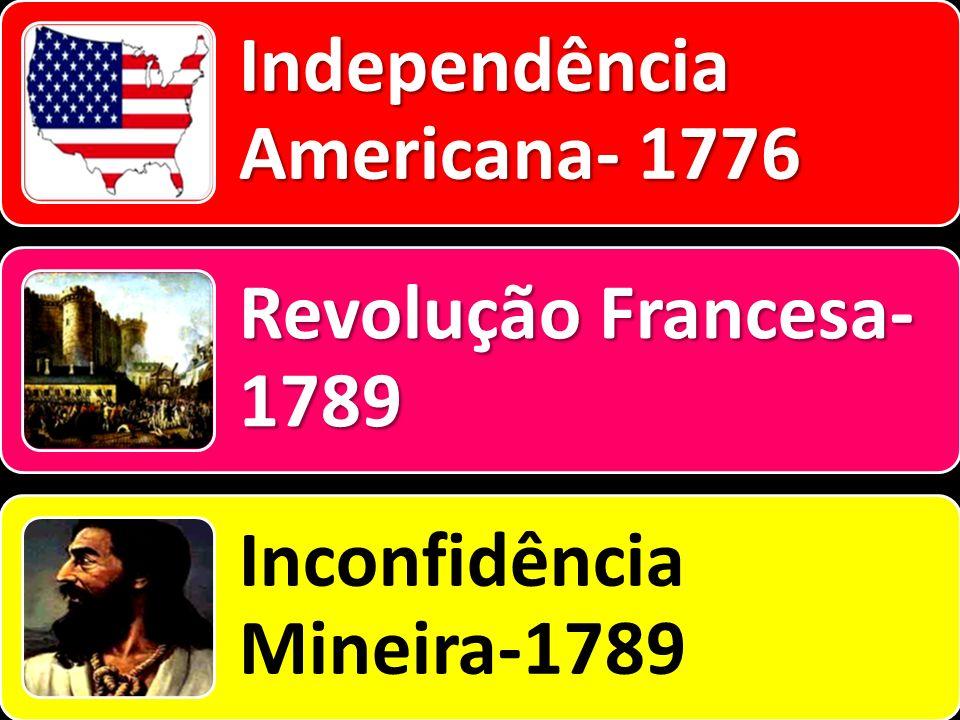 Independência Americana- 1776