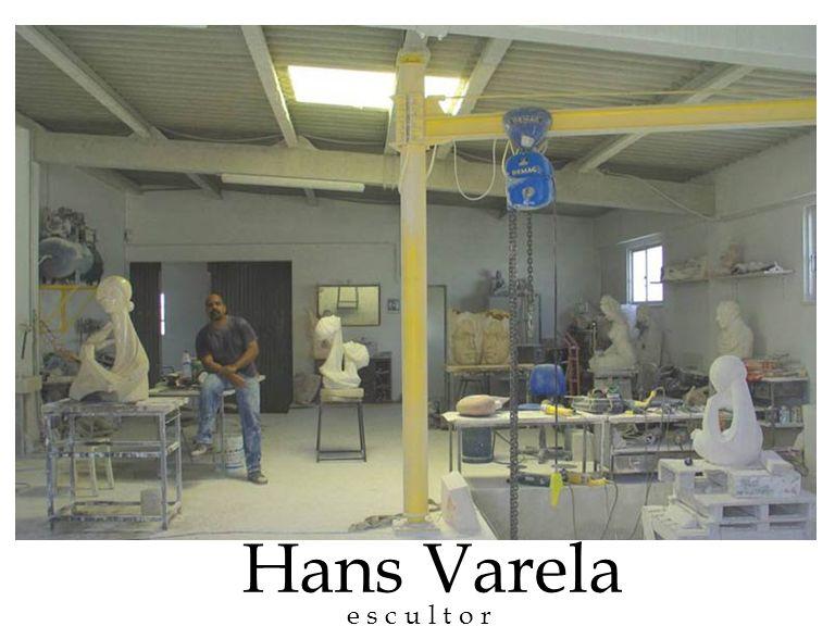 Hans Varela e s c u l t o r