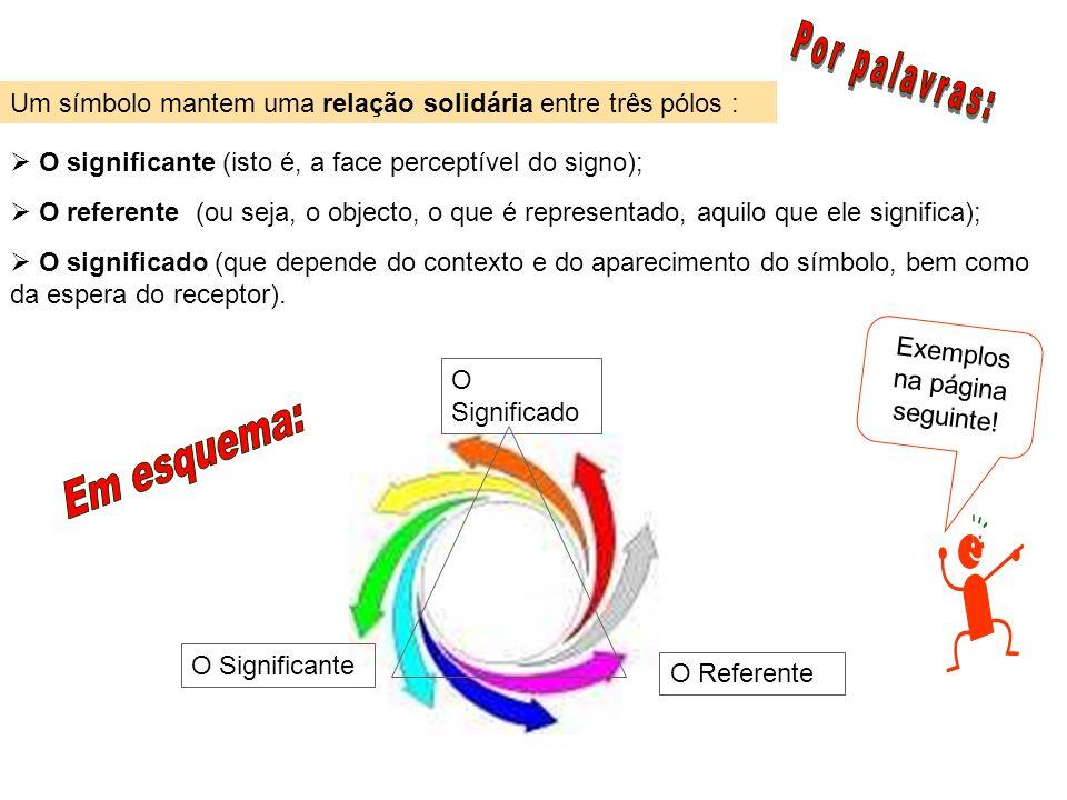 Exemplos na página seguinte!