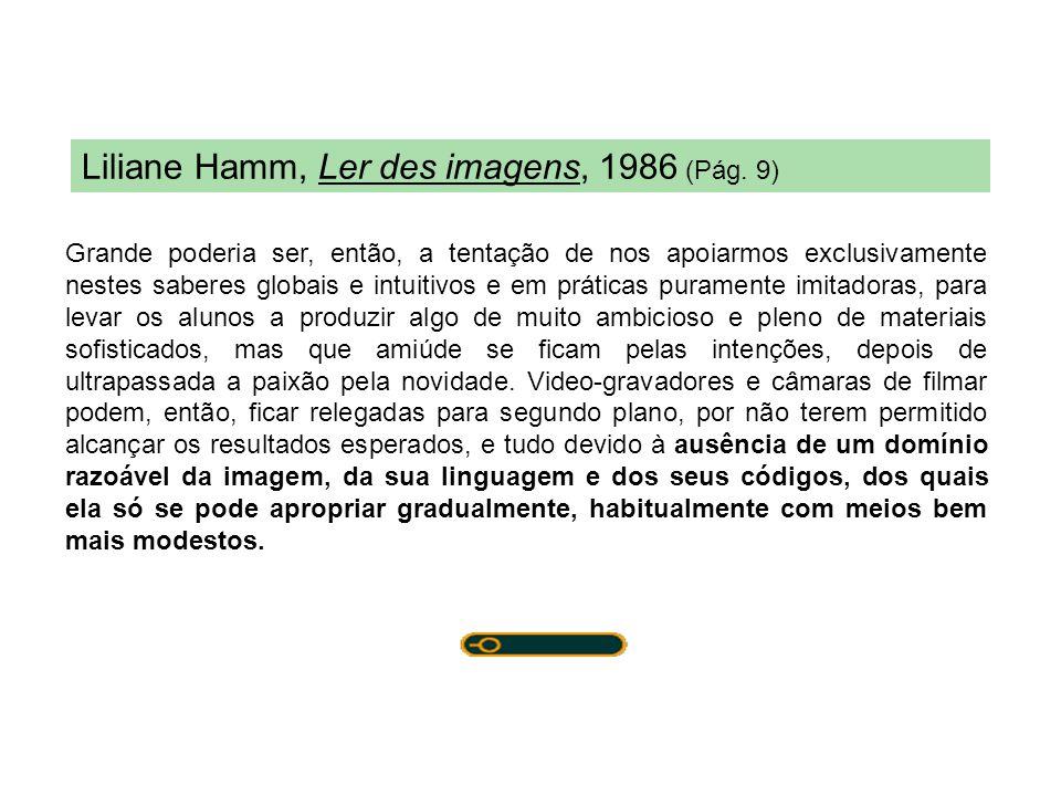 Liliane Hamm, Ler des imagens, 1986 (Pág. 9)