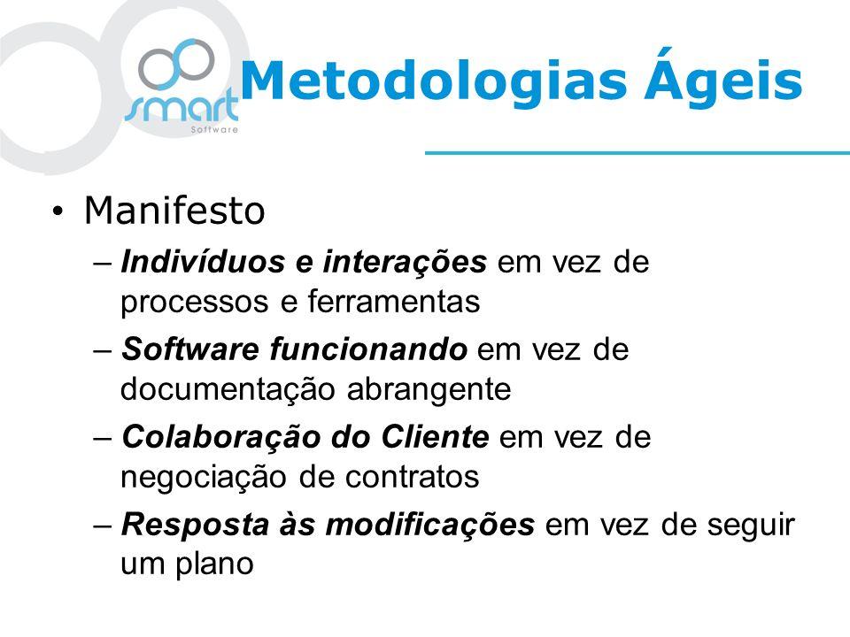 Metodologias Ágeis Manifesto