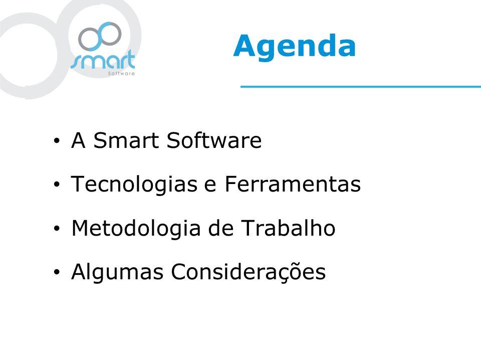 Agenda A Smart Software Tecnologias e Ferramentas