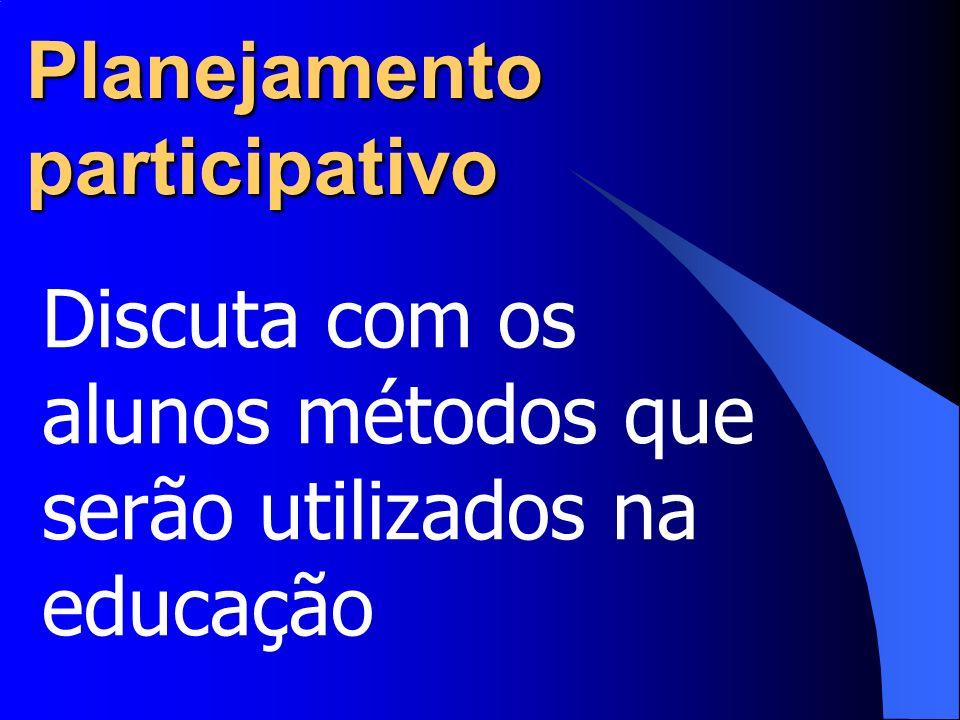 Planejamento participativo