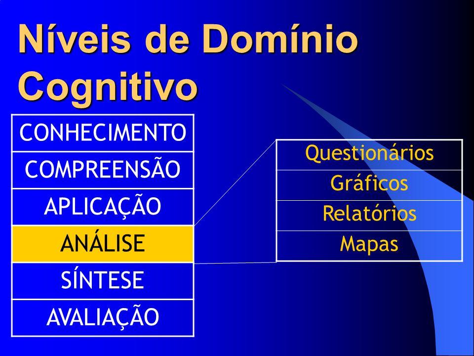 Níveis de Domínio Cognitivo