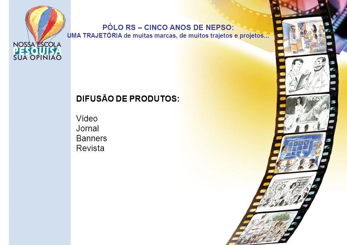 DIFUSÃO DE PRODUTOS: Vídeo Jornal Banners Revista