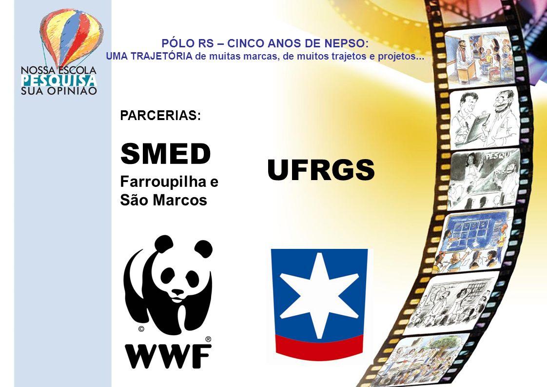 SMED UFRGS Farroupilha e São Marcos PARCERIAS: