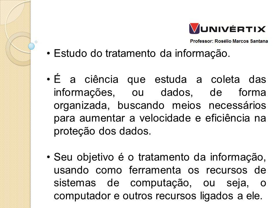 Estudo do tratamento da informação.