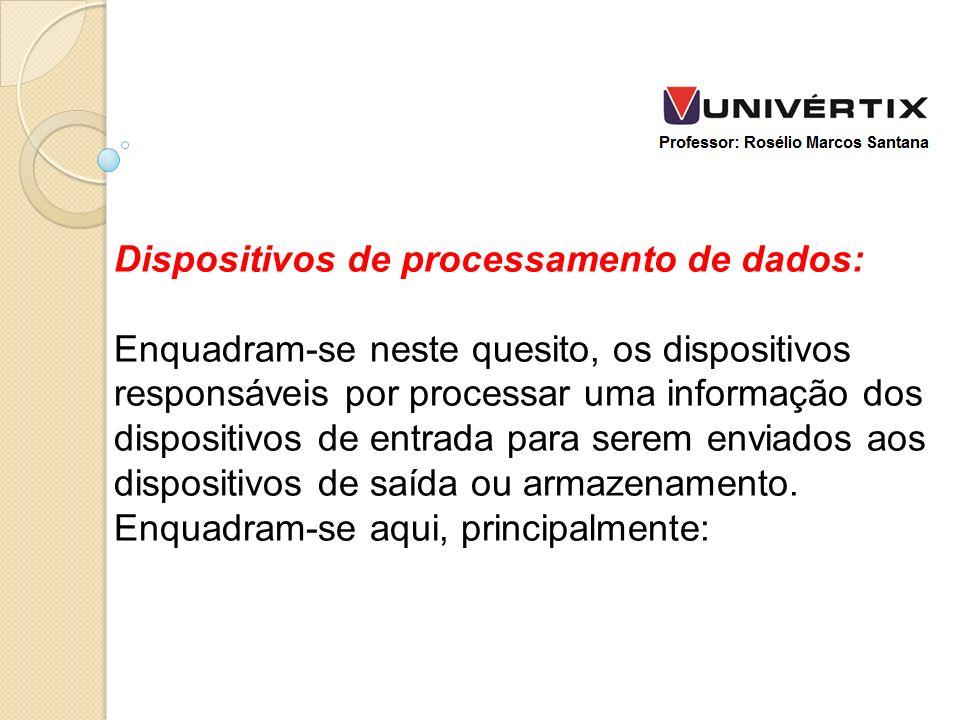 Dispositivos de processamento de dados: