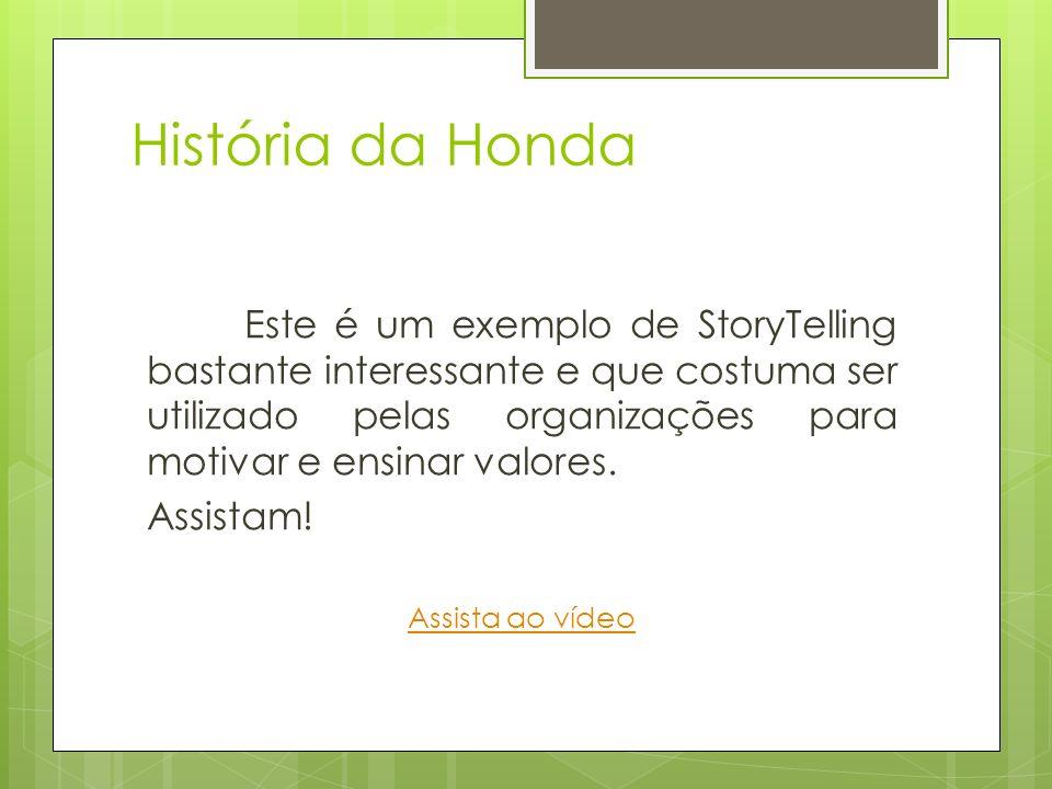 História da Honda Assistam!