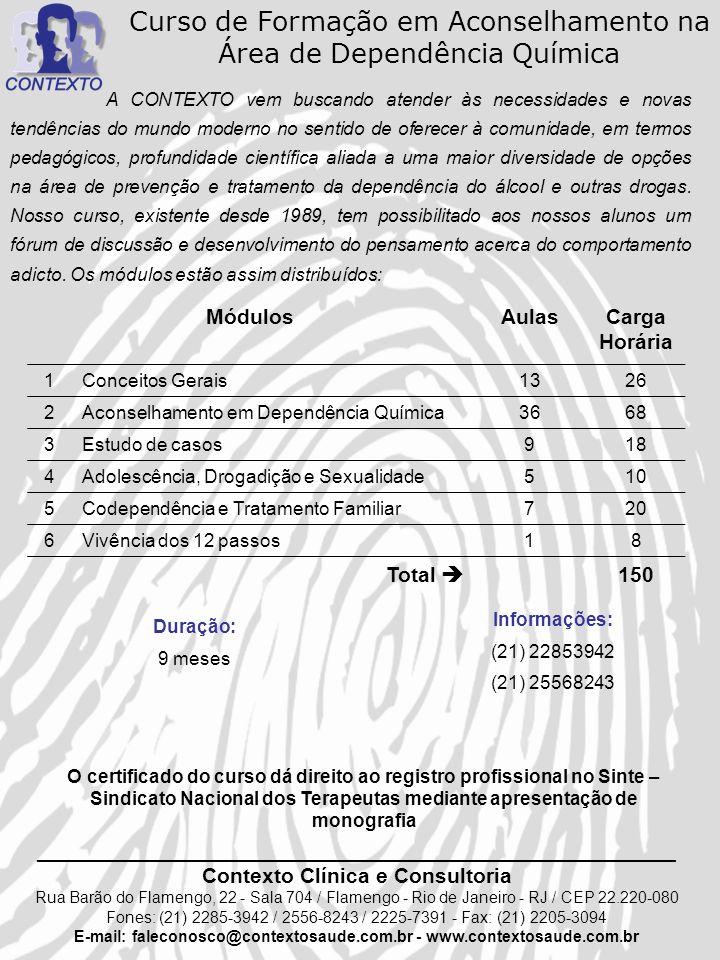 E-mail: faleconosco@contextosaude.com.br - www.contextosaude.com.br