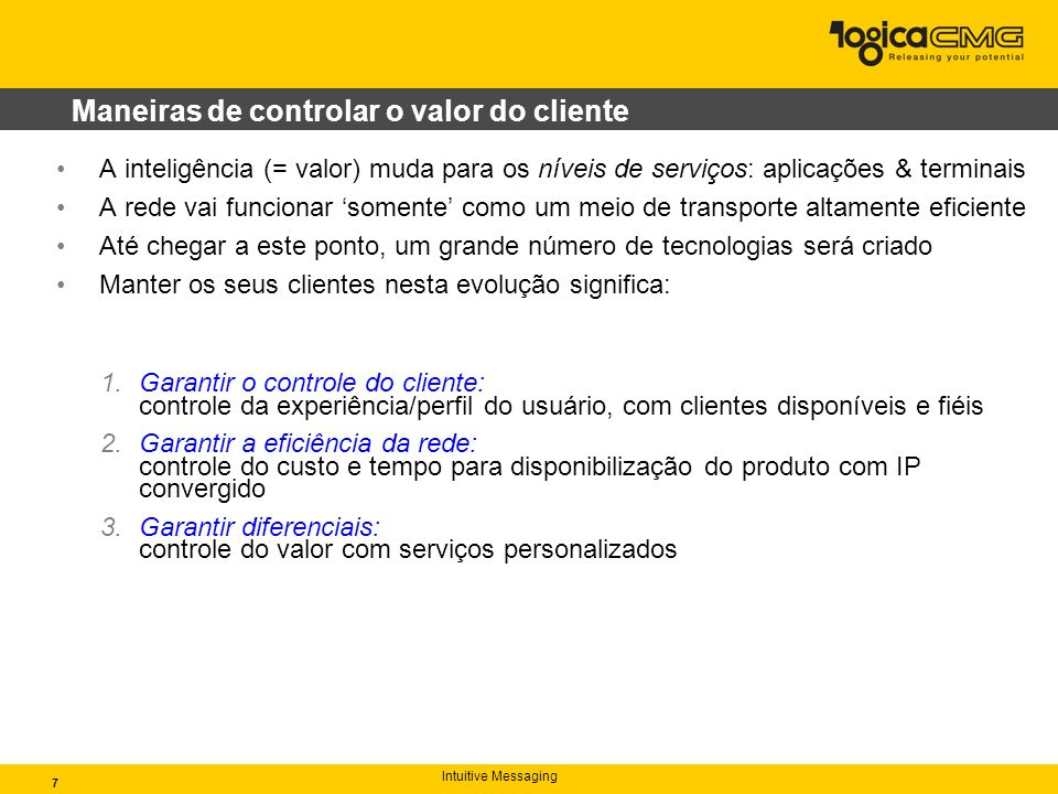 Maneiras de controlar o valor do cliente