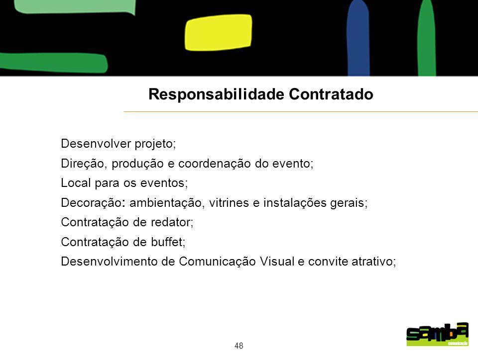 Responsabilidade Contratado