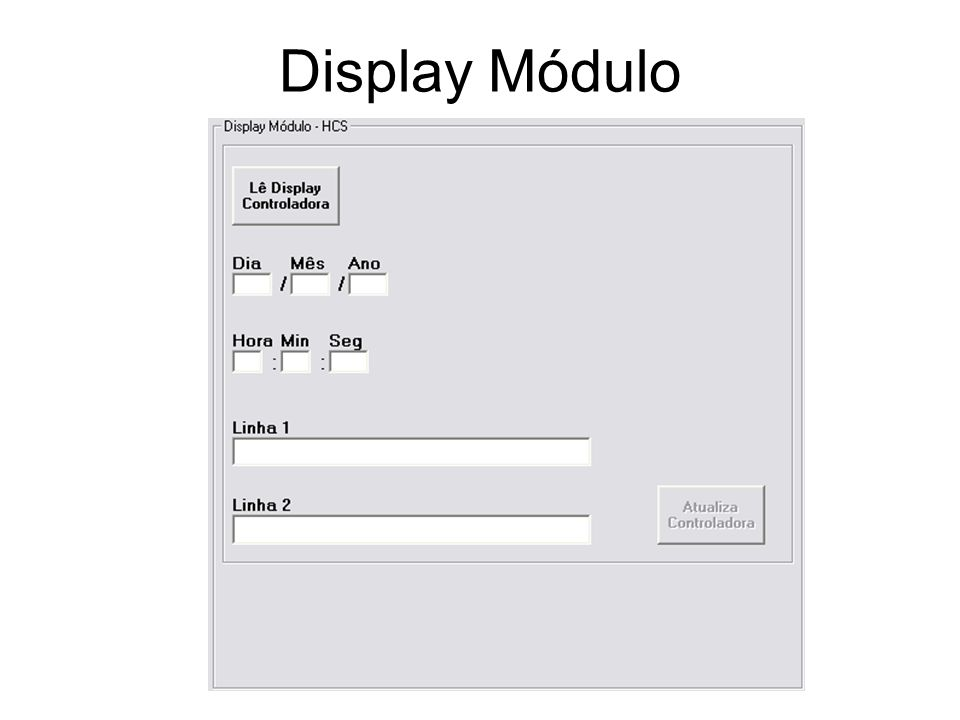 Display Módulo