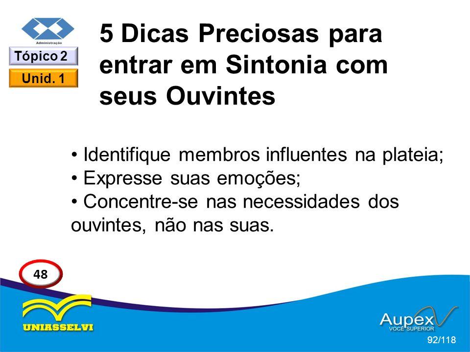 5 Dicas Preciosas para entrar em Sintonia com seus Ouvintes