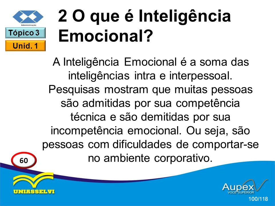 2 O que é Inteligência Emocional