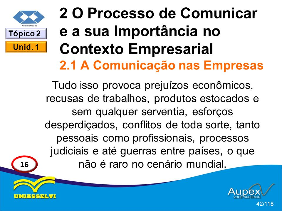 2 O Processo de Comunicar e a sua Importância no Contexto Empresarial 2.1 A Comunicação nas Empresas
