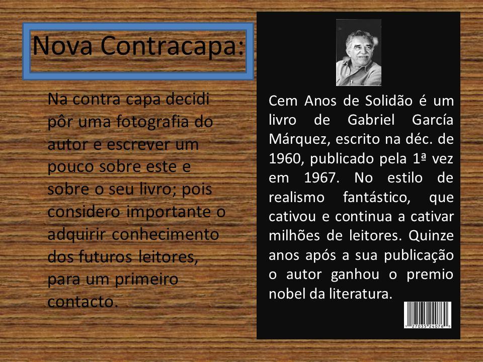 Nova Contracapa: