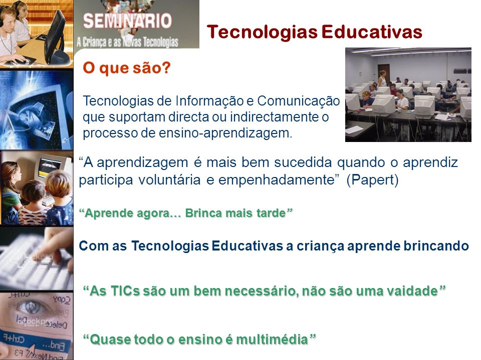 Tecnologias Educativas