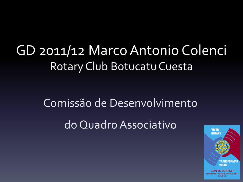 GD 2011/12 Marco Antonio Colenci Rotary Club Botucatu Cuesta