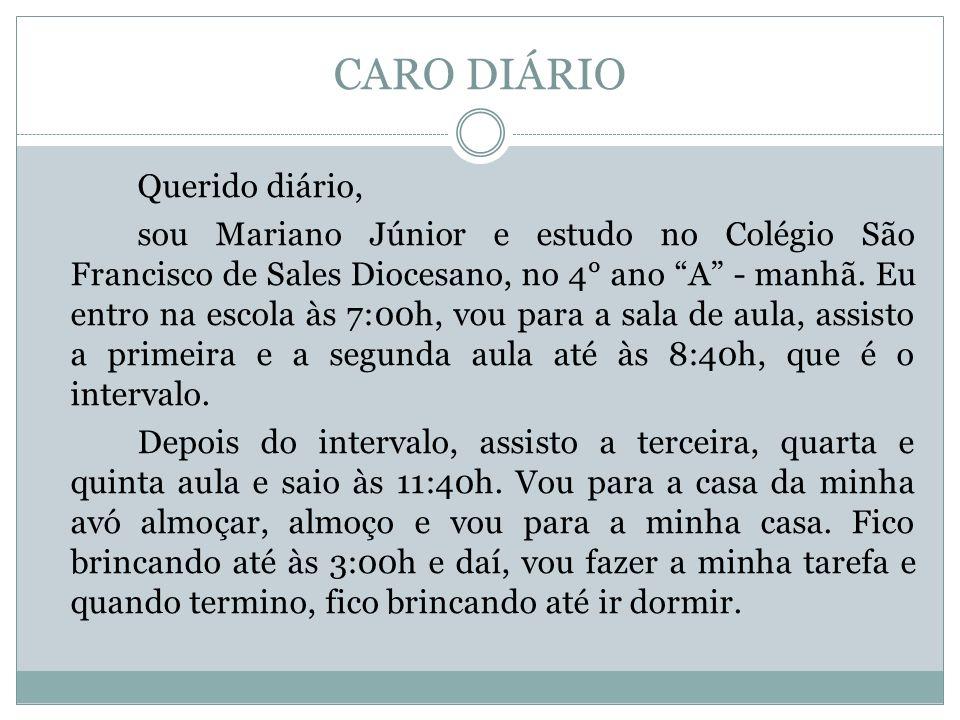 CARO DIÁRIO