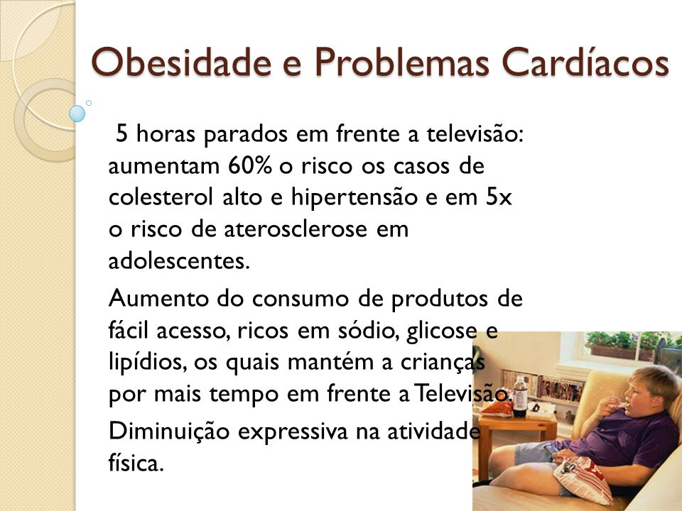 Obesidade e Problemas Cardíacos