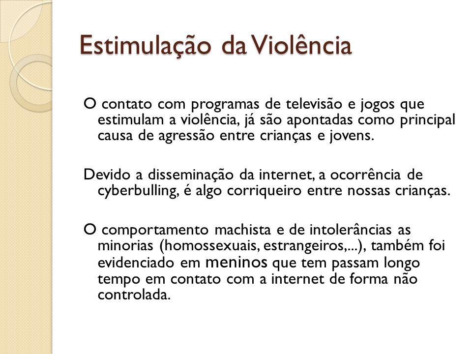 Estimulação da Violência