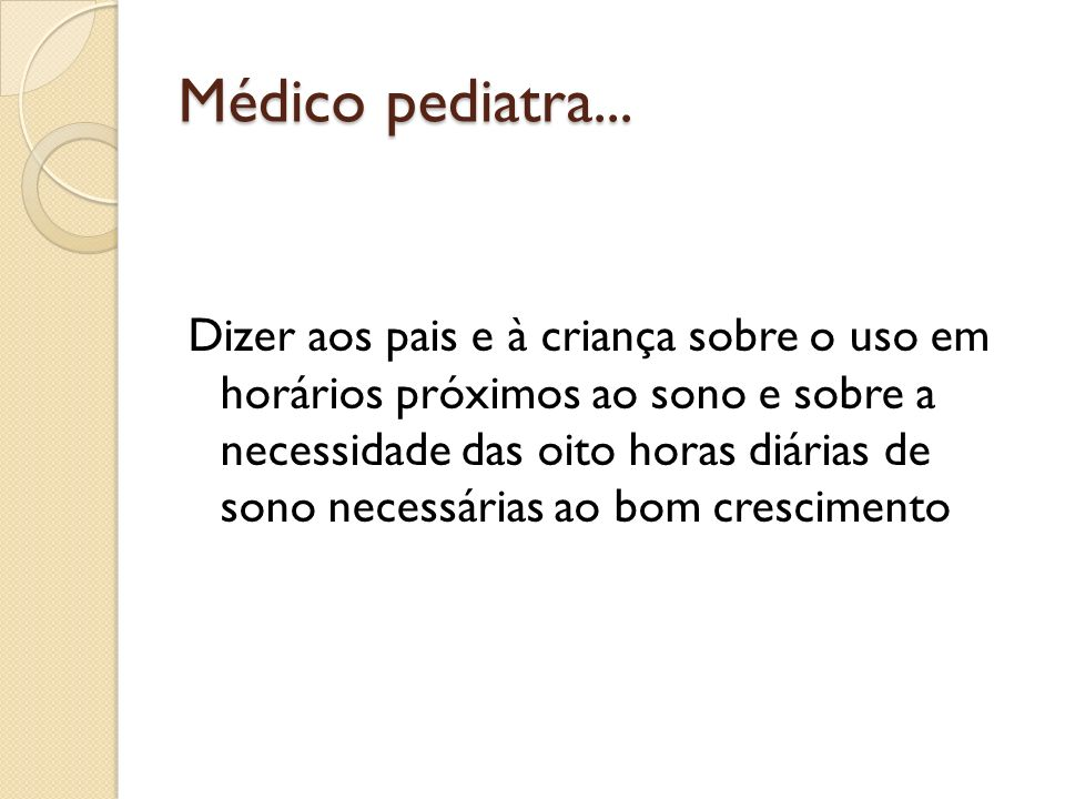 Médico pediatra...