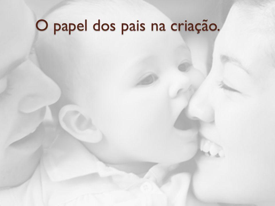 O papel dos pais na criação.