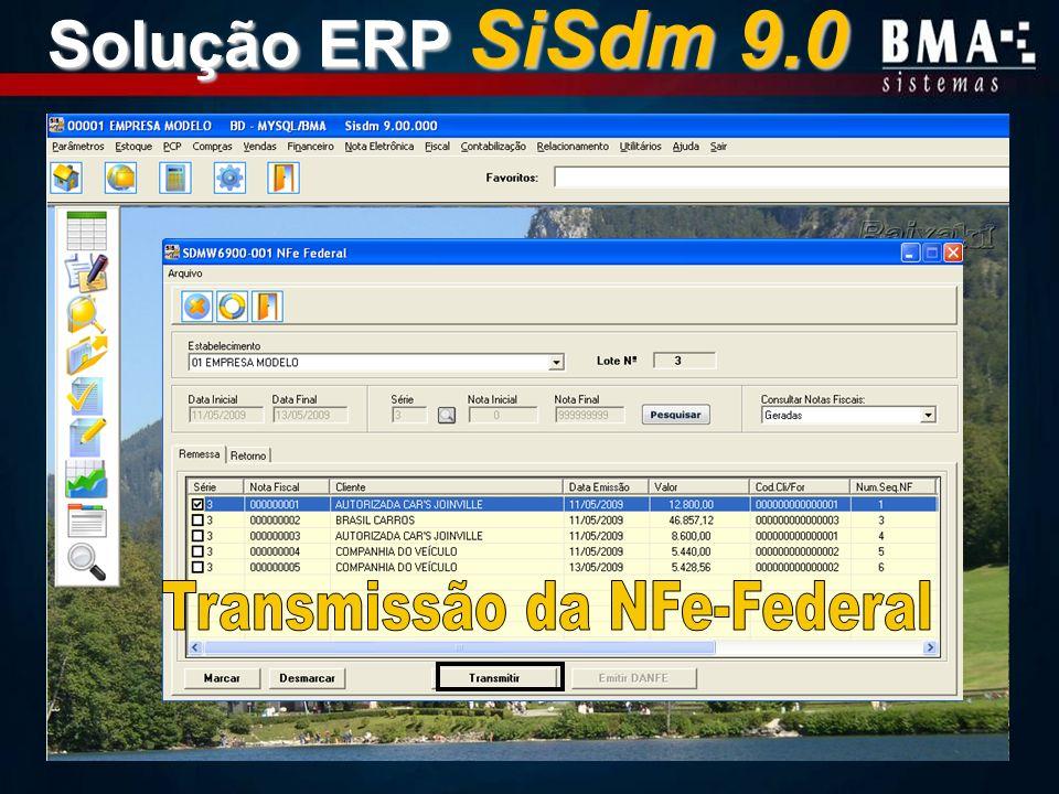 Transmissão da NFe-Federal