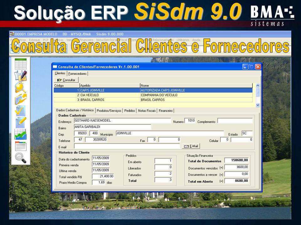 Consulta Gerencial Clientes e Fornecedores