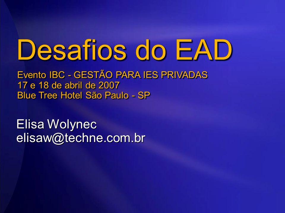Elisa Wolynec elisaw@techne.com.br