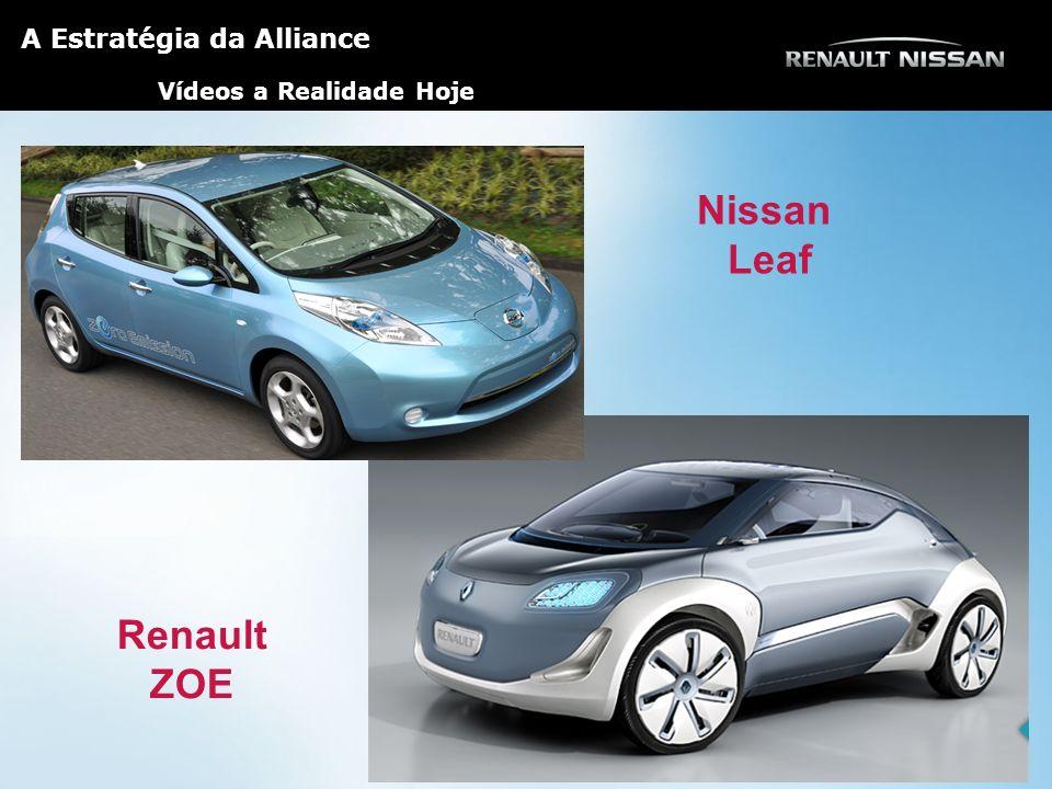 Nissan Leaf Renault ZOE