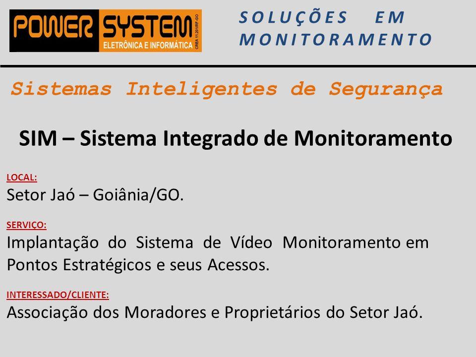 SIM – Sistema Integrado de Monitoramento