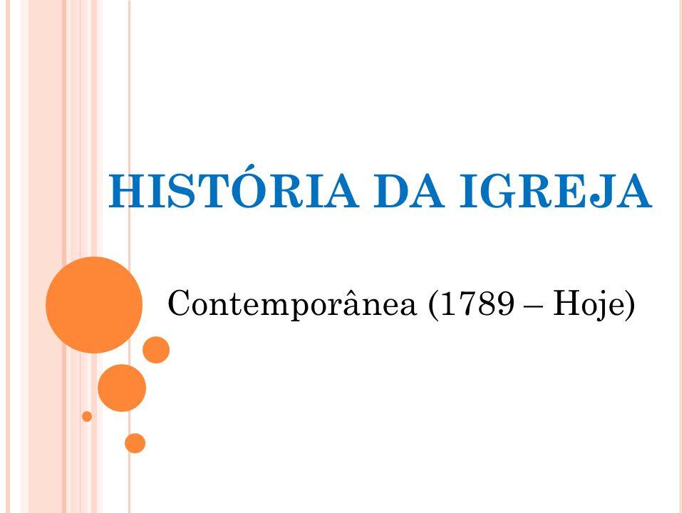 Contemporânea (1789 – Hoje)