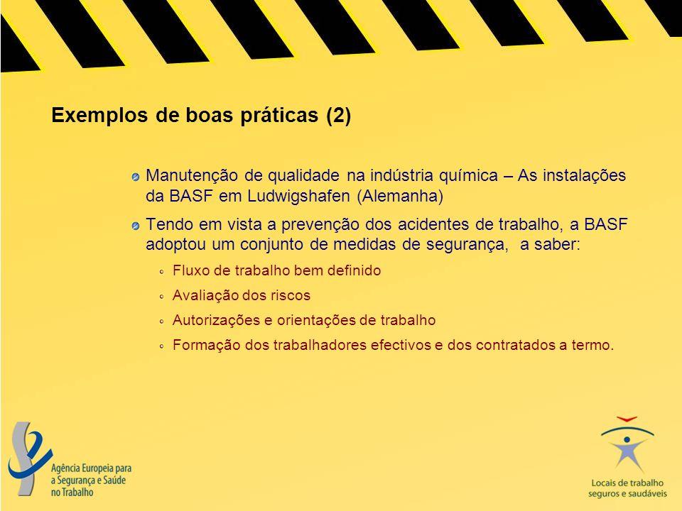 Exemplos de boas práticas (2)