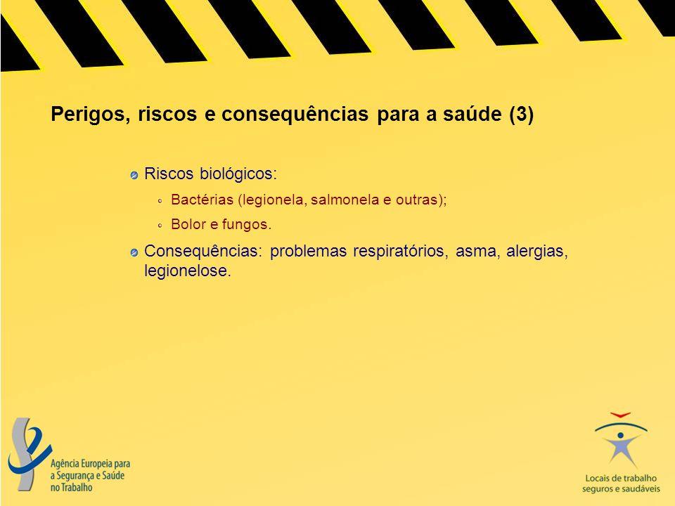 Perigos, riscos e consequências para a saúde (3)
