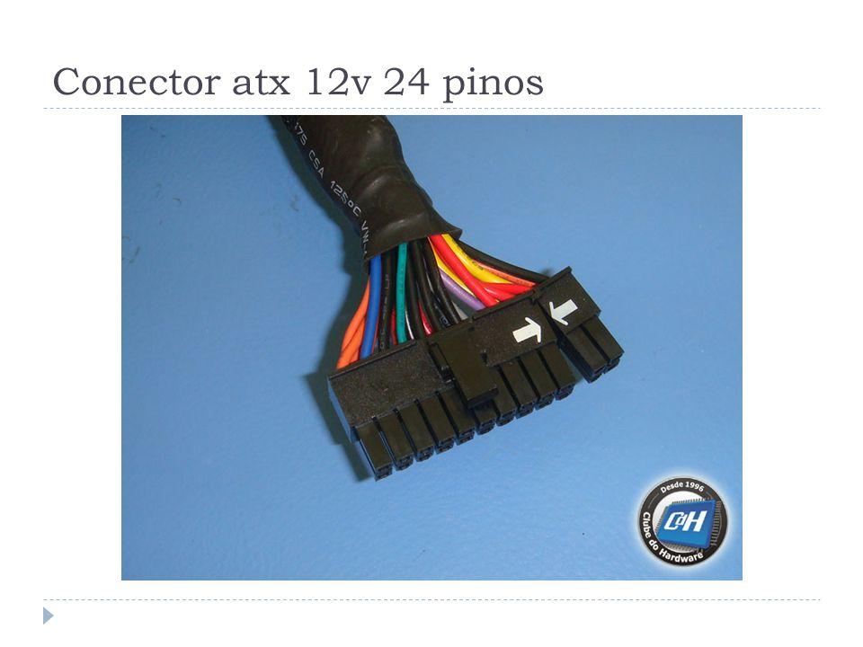 Conector atx 12v 24 pinos
