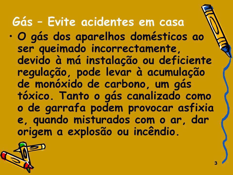 Gás – Evite acidentes em casa