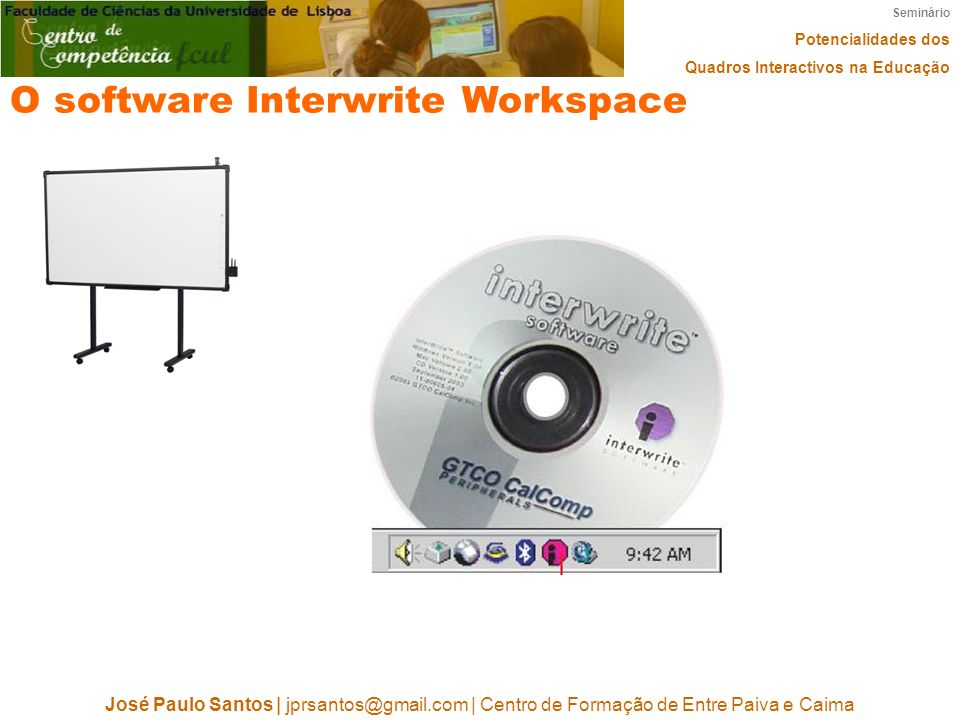 O software Interwrite Workspace