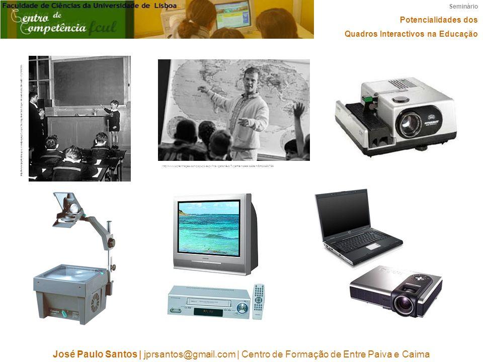 Seminário Potencialidades dos. Quadros Interactivos na Educação.