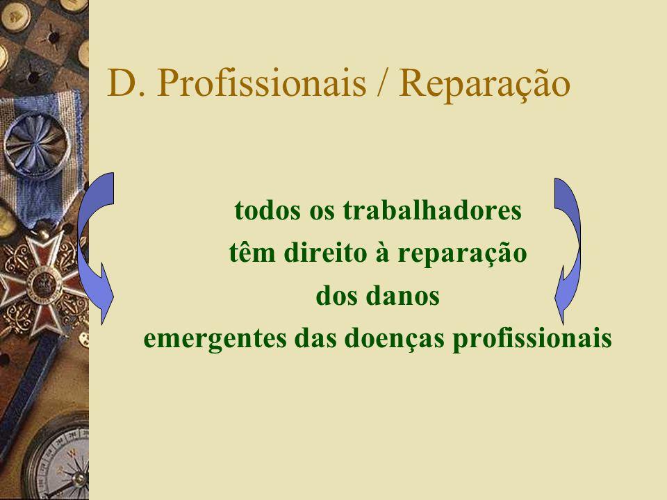 D. Profissionais / Reparação