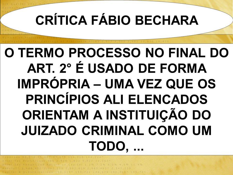 CRÍTICA FÁBIO BECHARA