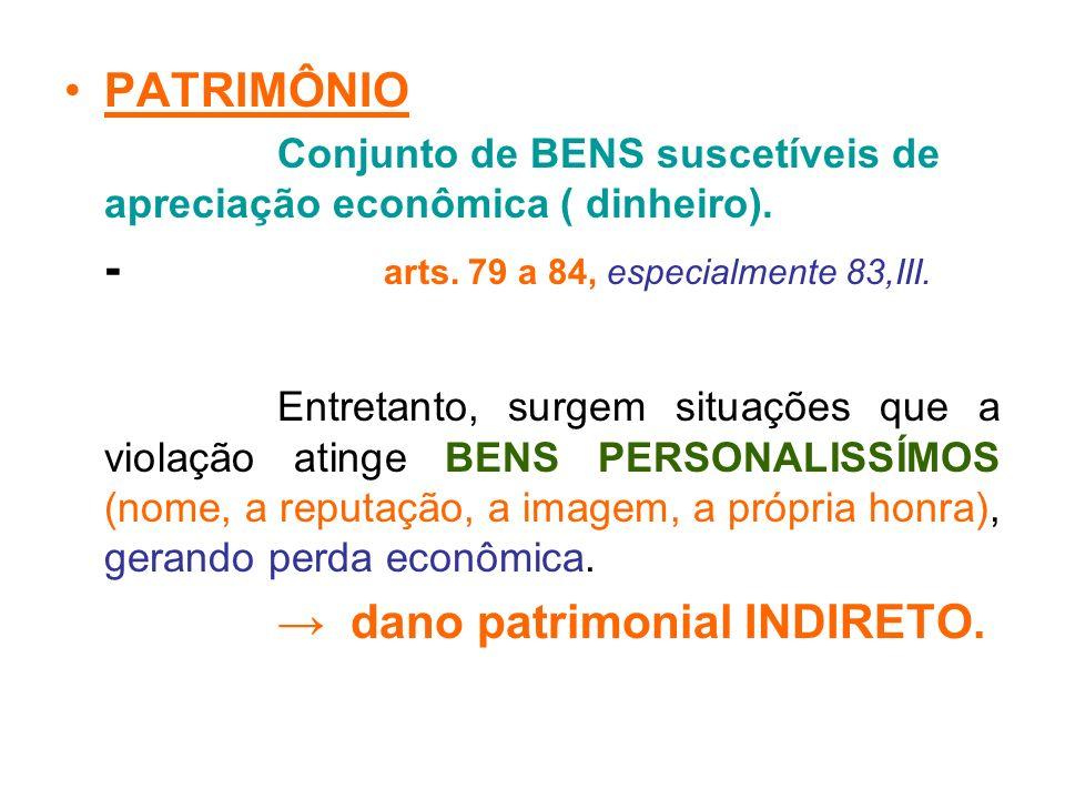 - arts. 79 a 84, especialmente 83,III.
