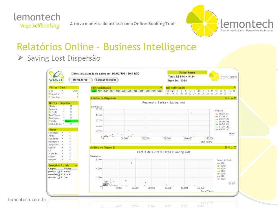 Relatórios Online – Business Intelligence