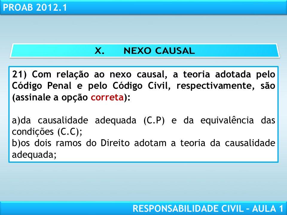 X. NEXO CAUSAL