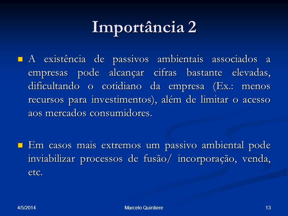 Importância 2