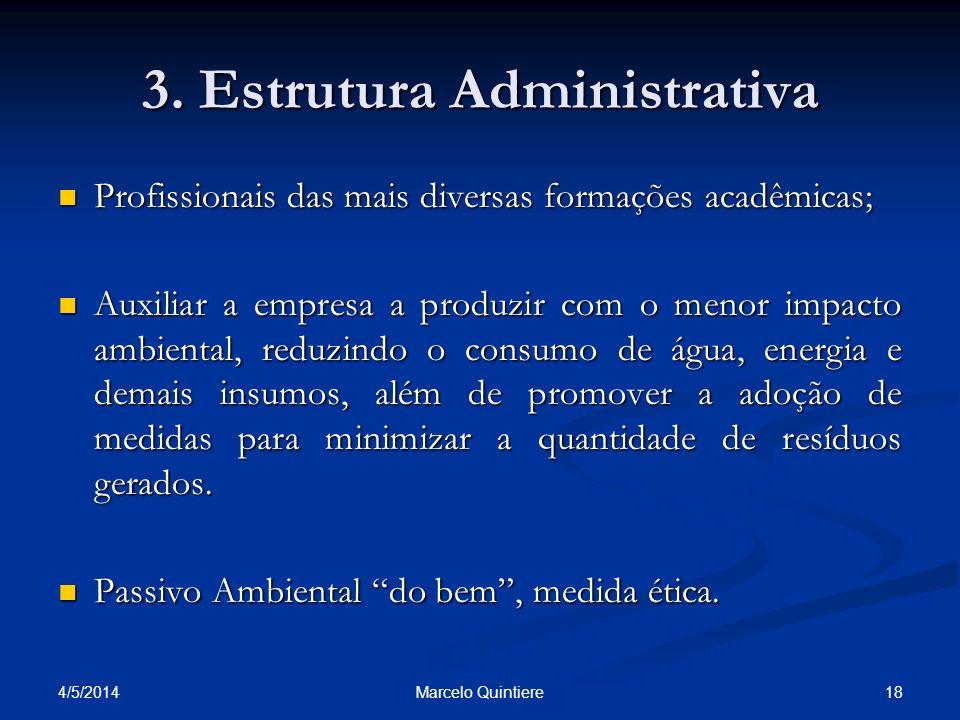 3. Estrutura Administrativa