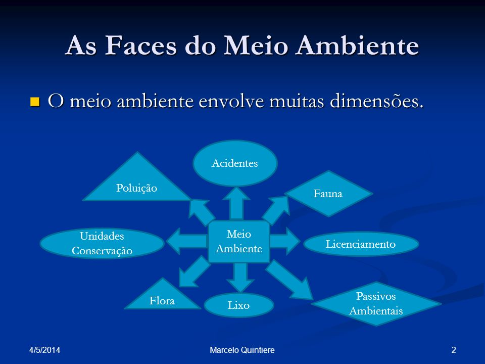 As Faces do Meio Ambiente